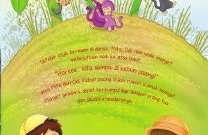 Ebook 2 in 1 Dongeng dan Aktivitas, Bukit Angka, Sampai di Kebun Pisang (11)