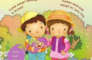 Ebook 2 in 1 Dongeng dan Aktivitas, Bukit Angka, Si Anak Monyet Menangis (5)