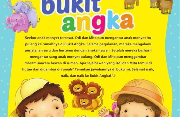 Ebook 2 in 1 Dongeng dan Aktivitas, Bukit Angka, Sinopsis (24)