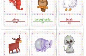 Ebook 2 in 1 Dongeng dan Aktivitas, Bukit Angka, Stiker Hewan (20)