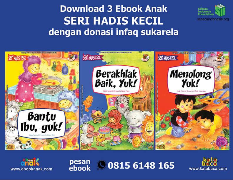 Ebook 3 Buku Seri Hadis Kecil