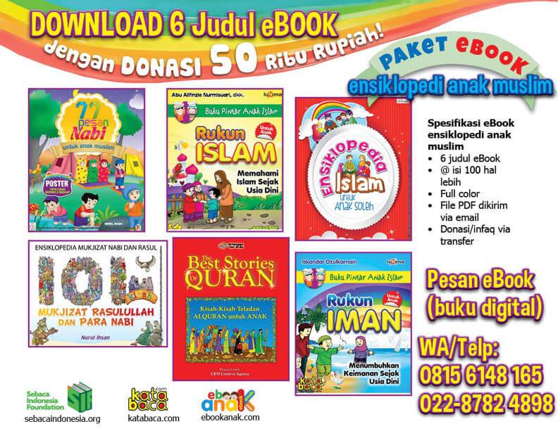 Ebook 6 Buku Ensiklopedia Anak Muslim