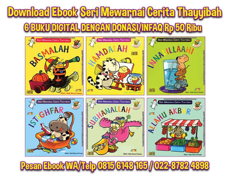 Ebook 6 Judul Seri Mewarnai Cerita Thayyibah