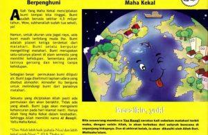 Ebook 99 Asmaul Husna for Kids, Al Baaqii, Satu-Satunya Planet yang Berpenghuni (98)