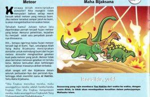 Ebook 99 Asmaul Husna for Kids, Al Hakiim, Hujan Meteor (48)