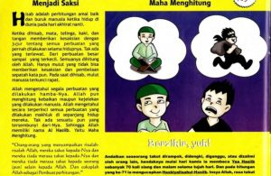 Ebook 99 Asmaul Husna for Kids, Al Hasiib, Semua Anggota Badan Menjadi Saksi (42)