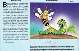 Ebook 99 Asmaul Husna for Kids, Al Hayy, Tawon Gerabah yang Unik (64)