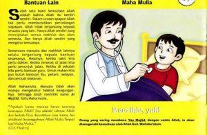 Ebook 99 Asmaul Husna for Kids, Al Majiid, Berdiri Sendiri tanpa Bantuan Lain (50)