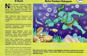 Ebook 99 Asmaul Husna for Kids, Al Mughnii, Raja terkaya di Bumi (91)