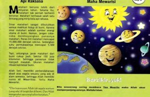 Ebook 99 Asmaul Husna for Kids, Al Waaritsu, Bola Api Raksasa (99)