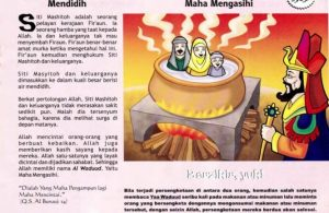 Ebook 99 Asmaul Husna for Kids, Al Waduud, Direbus dalam Air Mendidih (49)