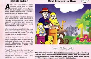 Ebook 99 Asmaul Husna for Kids, Al badii', Allah Cukup Berkata Jadilah (97)