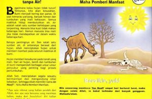 Ebook 99 Asmaul Husna for Kids, An Naafi', jika Bumi tanpa Air (94)