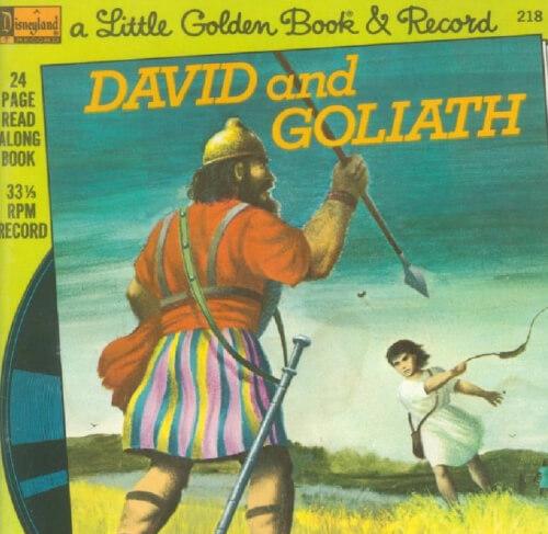 Ebook A Little Golden Book & Record David and Goliath Seri 4