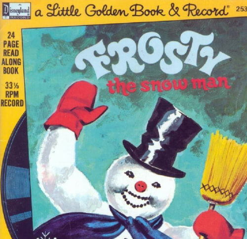 Ebook A Little Golden Book & Record Frosty Seri 5
