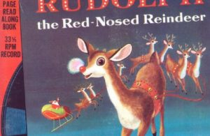 Ebook A Little Golden Book & Record, Rudolph The Red-Nosed Reindeer