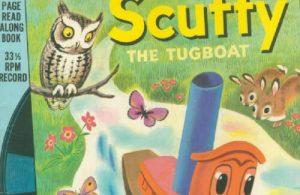 Ebook A Little Golden Book & Record, Scuffy The Tugboat