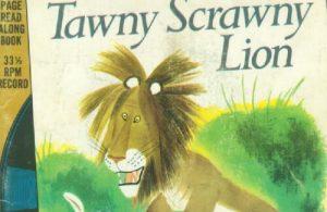 Ebook A Little Golden Book & Record Tawny Scrawny Lion
