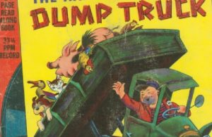 Ebook A Little Golden Book & Record, The Happy Man and His Dump Truck Seri 6