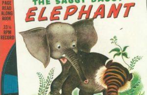 Ebook A Little Golden Book & Record, The Saggy Baggy Elephant