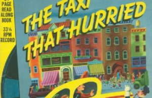 Ebook A Little Golden Book & Record, The Taxi Thar Hurried