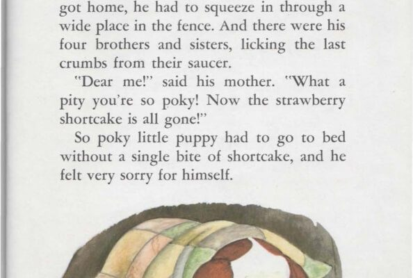 Ebook A Little Golden Book The Poky Little Puppy (25)