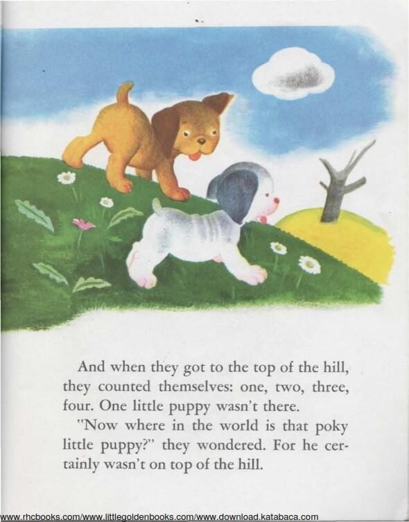 Ebook A Little Golden Book The Poky Little Puppy (5)