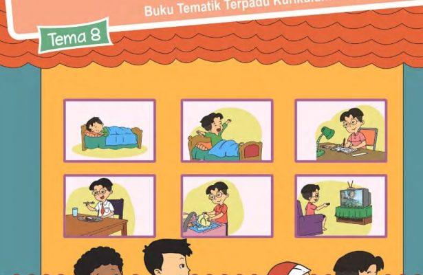 Ebook Buku Siswa, Tematik Terpadu 2013 SDMI Kelas 2 Tema 8; Keselamatan di Rumah dan Perjalanan, Revisi 2017 (ES16)