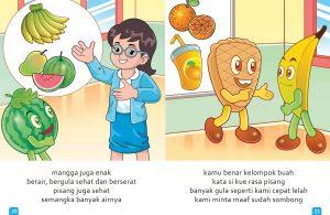 Ebook Cerita Anak, Aku Suka Buah, Enak, Sehat, dan Berserat (13)