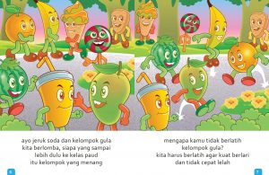 Ebook Cerita Anak, Aku Suka Buah, Jeruk Soda dan Gula (6)