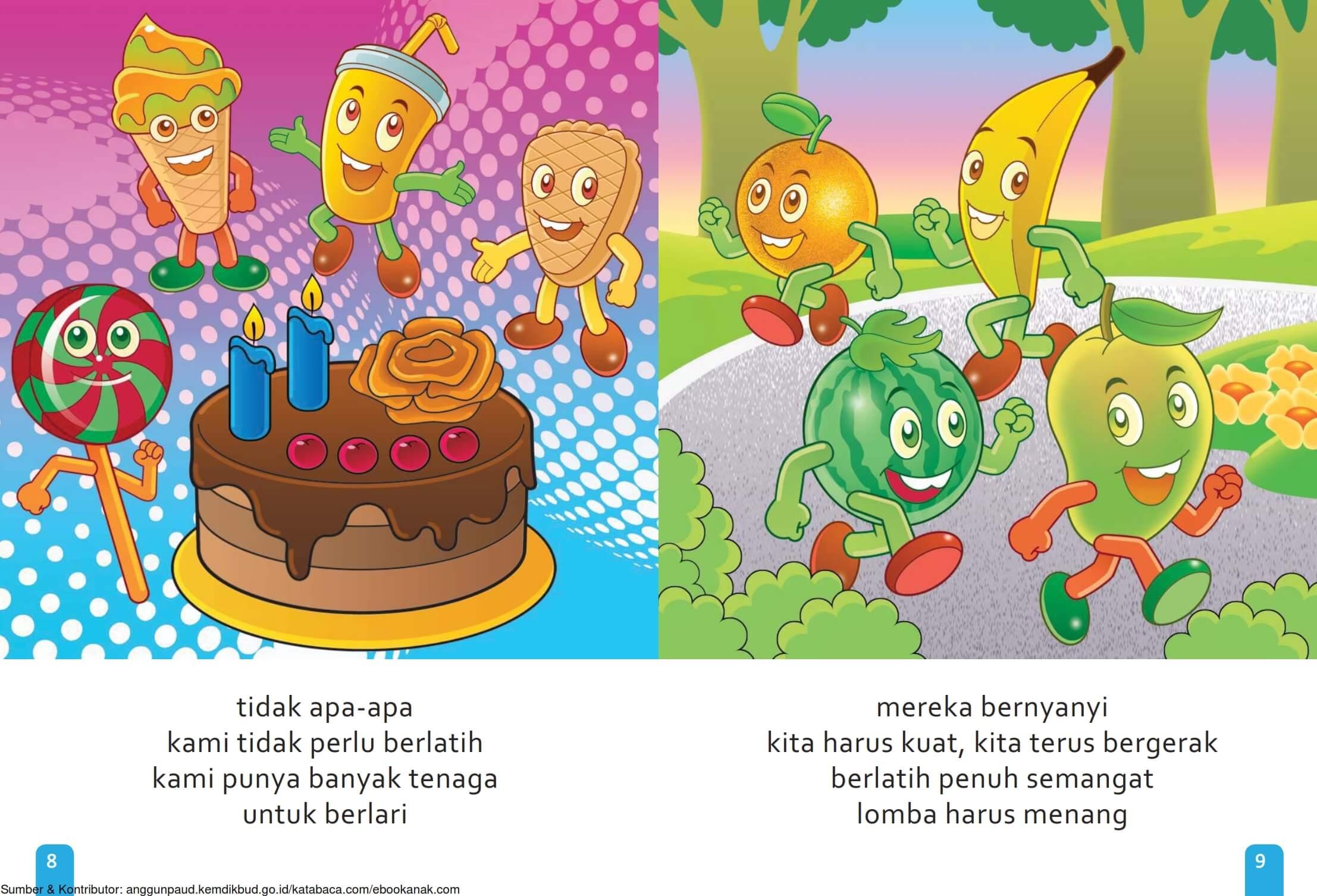 Ebook Cerita Anak, Aku Suka Buah, Malas Berlatih (7)