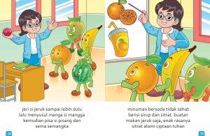 Ebook Cerita Anak, Aku Suka Buah, Pemenang Lomba (12)