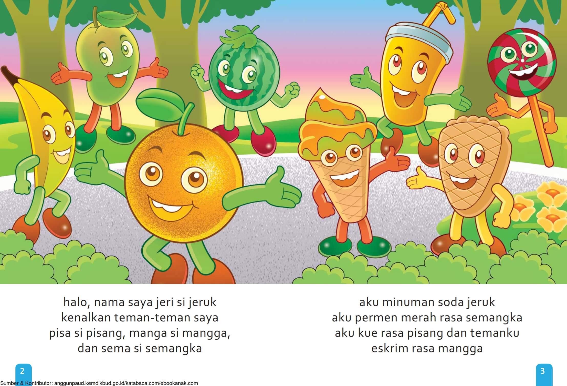 Ebook Cerita Anak, Aku Suka Buah, Siapa Saja Aku (4)