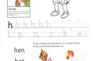 """Belajar Menulis Huruf """"H"""" dan """"h"""""""