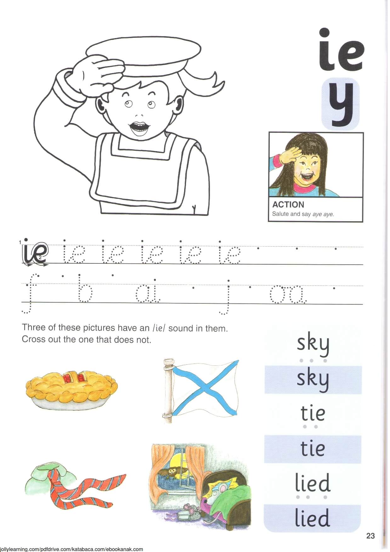 """Belajar Menulis Hurup """"i,e,y"""" Kecil"""