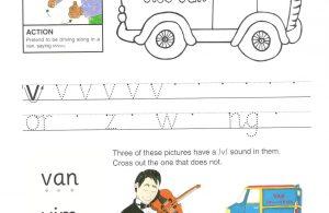 """Belajar Menulis Hurup """"V"""" Besar dan """"v"""" Kecil"""
