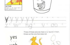 """Belajar Menulis Hurup """"Y"""" Besar dan """"y Kecil"""