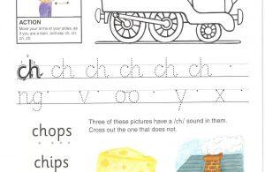 """Belajar Menulis Hurup """"ch"""" Kecil"""