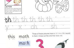 """Belajar Menulis Hurup Kecil """"th"""""""