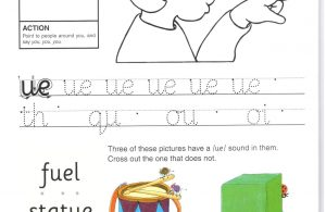 """Belajar Menulis Hurup Kecil """"ue"""""""