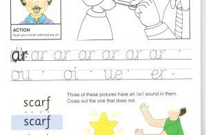 """Belajar Menulis Hurup Kecil """"ar"""""""