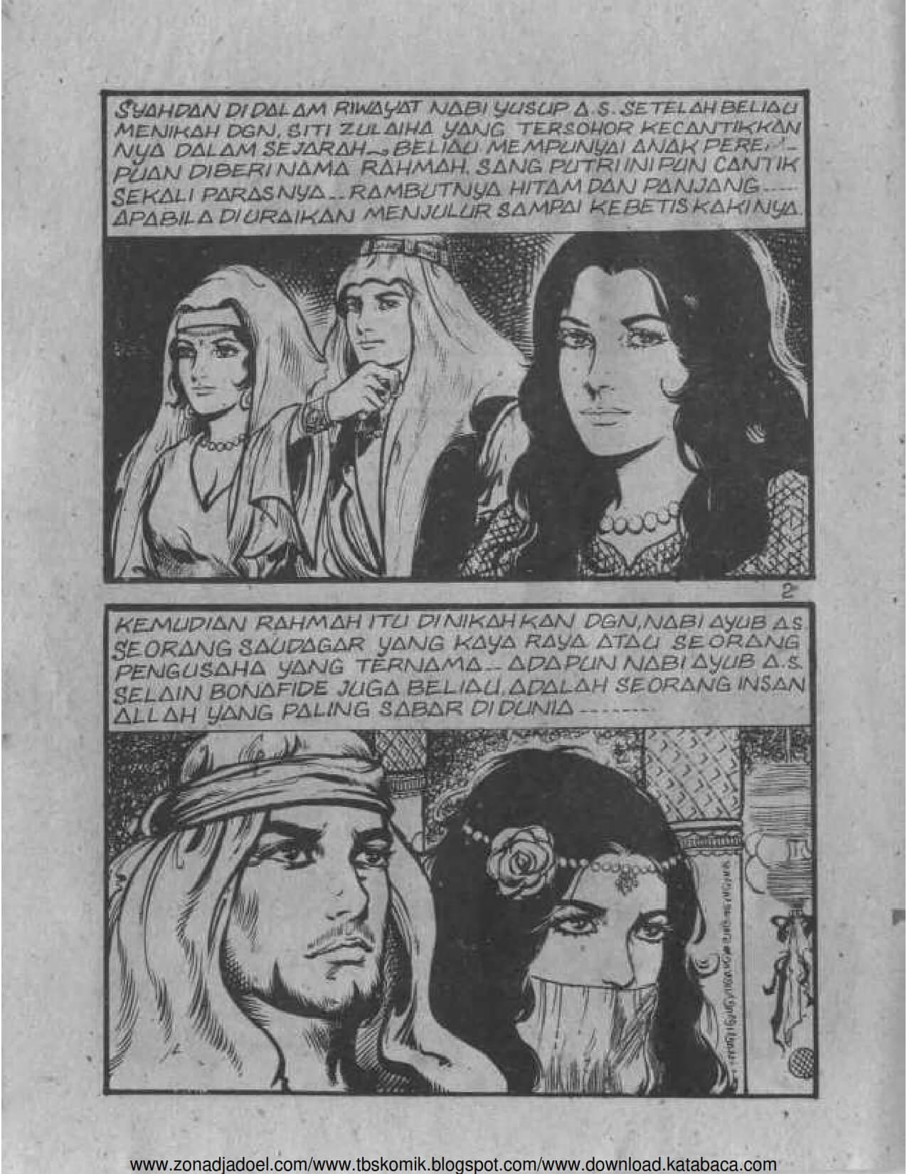 Ebook Komik Sejarah Nabi Zulkifli (3)