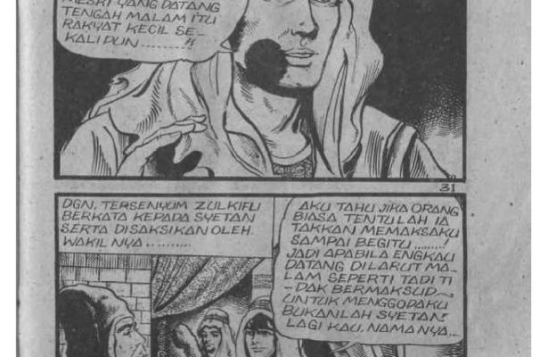 Ebook Komik Sejarah Nabi Zulkifli (32)