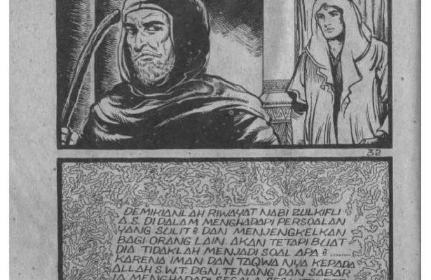 Ebook Komik Sejarah Nabi Zulkifli (33)