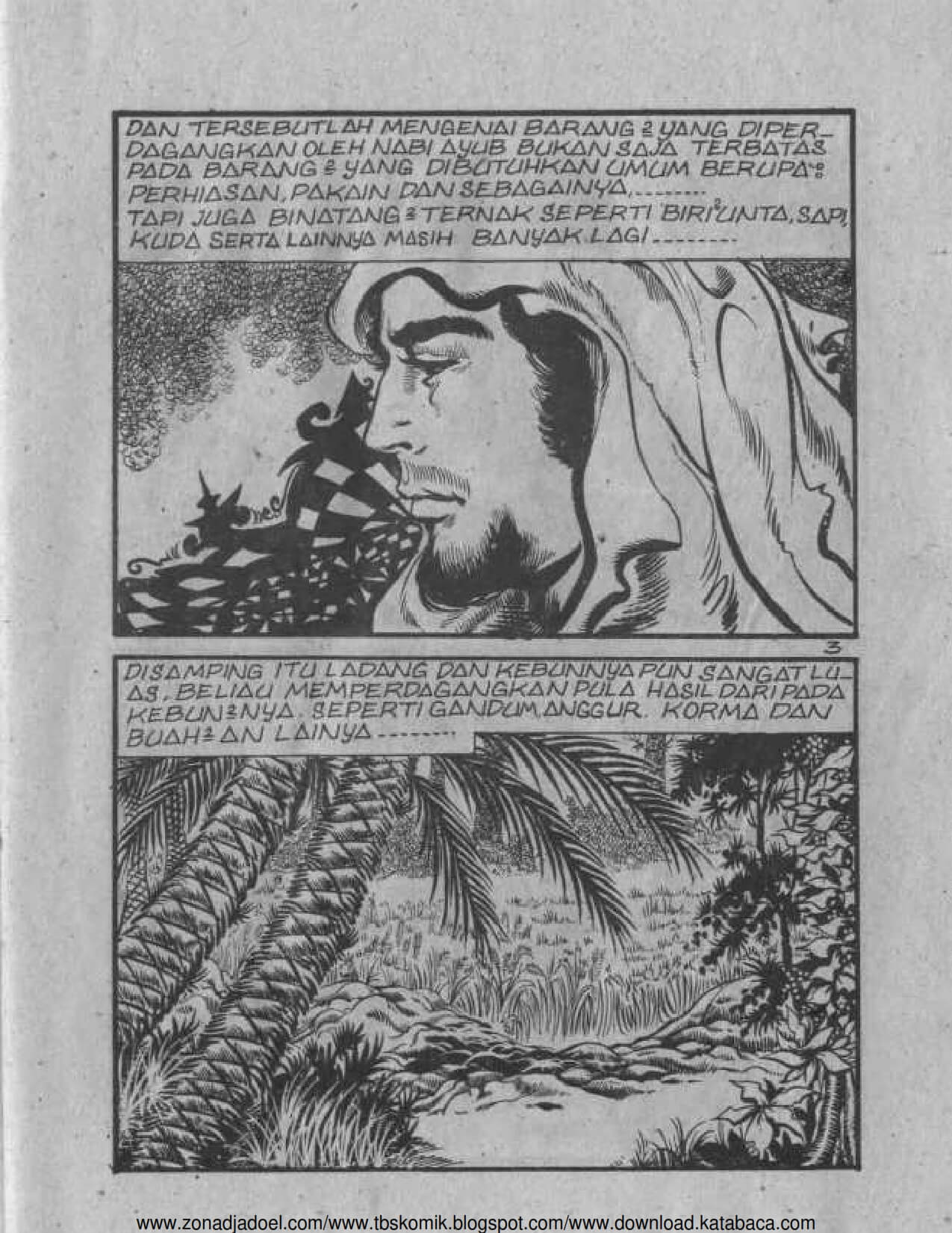 Ebook Komik Sejarah Nabi Zulkifli (4)