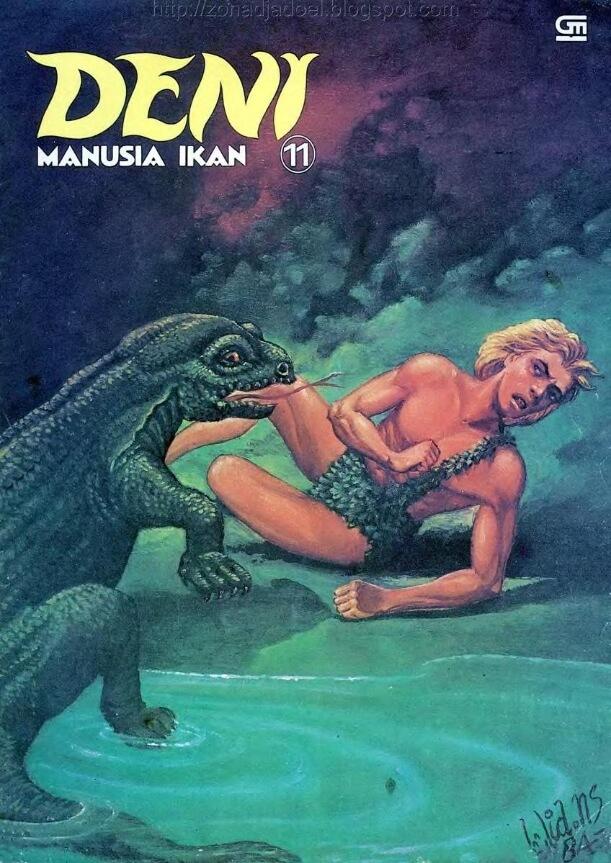 Ebook Komik Seri Album Deni Manusia Ikan 11