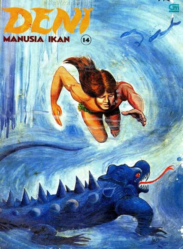 Ebook Komik Seri Album Deni Manusia Ikan 14
