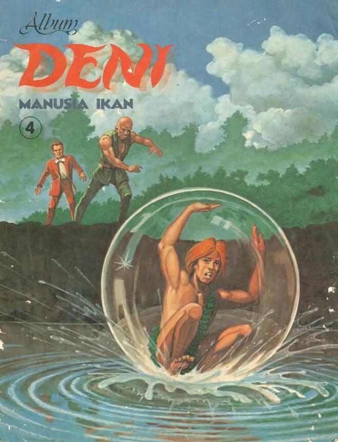 Ebook Komik Seri Album Deni Manusia Ikan 4