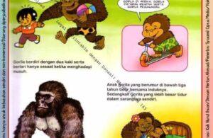 Ebook Legal dan Printable Aku Anak Cerdas Dunia Hewan 1, Gorila (17)