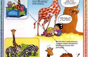 Ebook Legal dan Printable Aku Anak Cerdas Dunia Hewan 1, Jerapah dan Zebra (11)